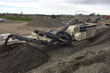 Metso Outotec's mobile crushers and screens in recycling