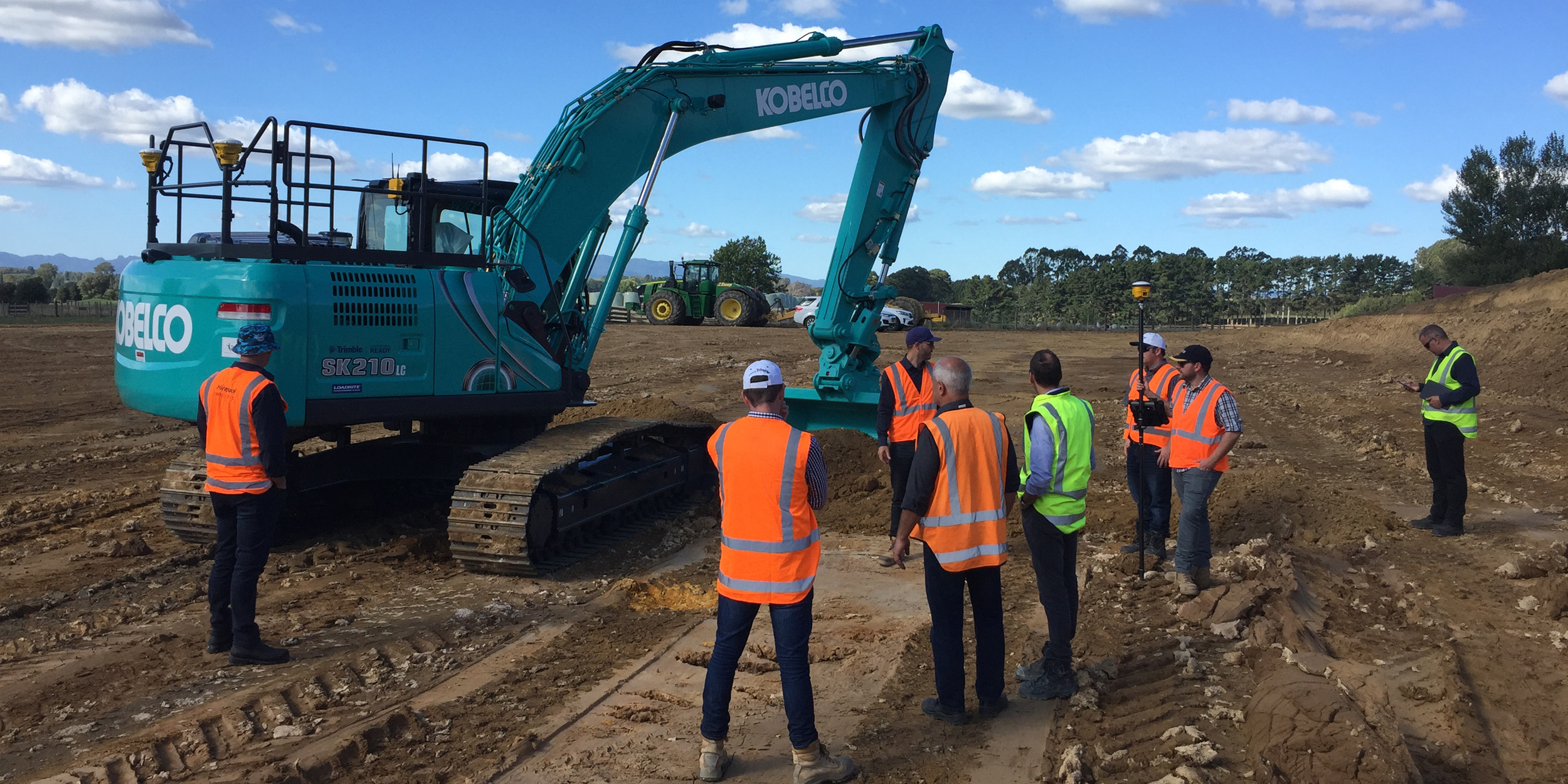 Trimble Ready Option for Select Kobelco Models